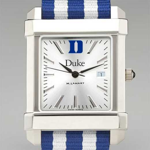 615789296478: Duke Univ Collegiate Watch W/NATO Strap for Men